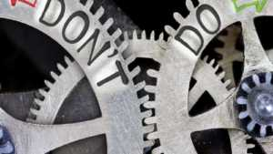 Do's and Dont's im Praktikum